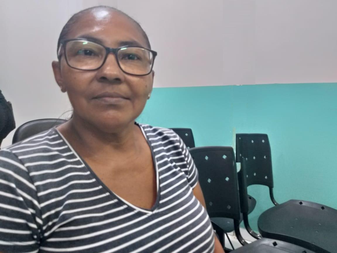 Margarida Alencastro, paciente do Hospital ?São Judas Tadeu, faz exame preventivo anualmente - Foto Sandra Carvalho