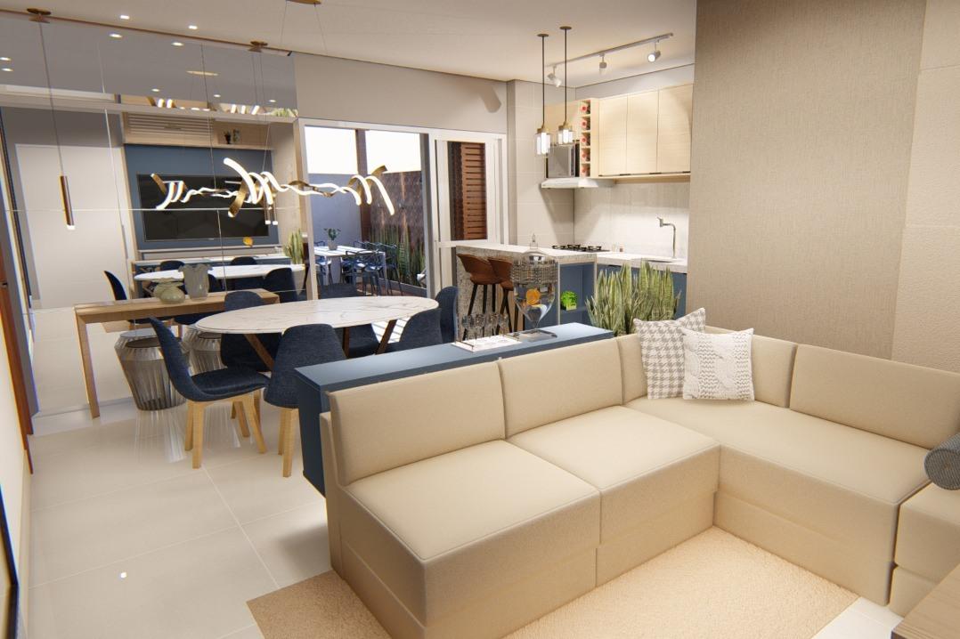 Sicilia-Residence - cozinha com Pantone Classic Blue